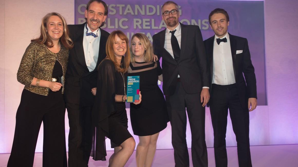 Orchard wins gold at PRide Awards