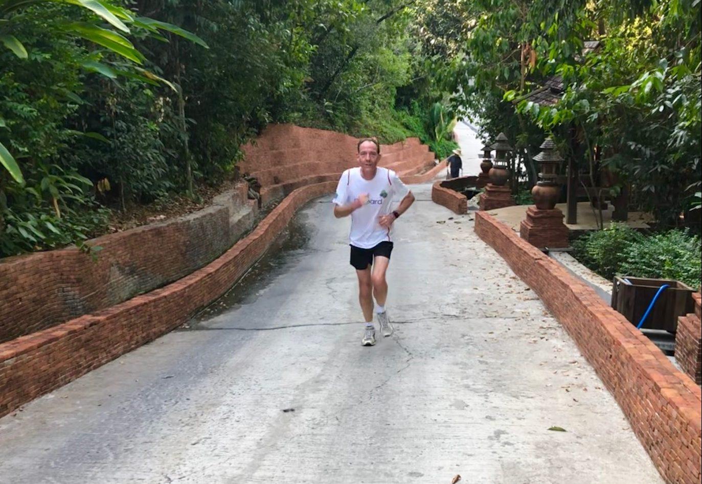 I'll never run a marathon