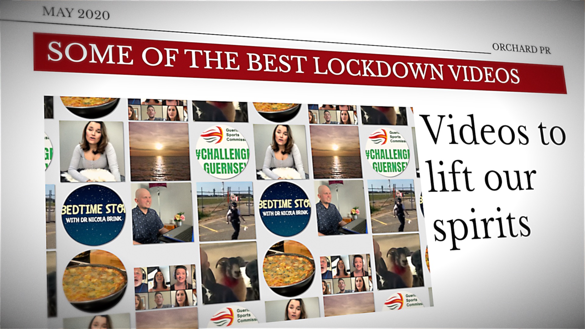 The best lockdown videos