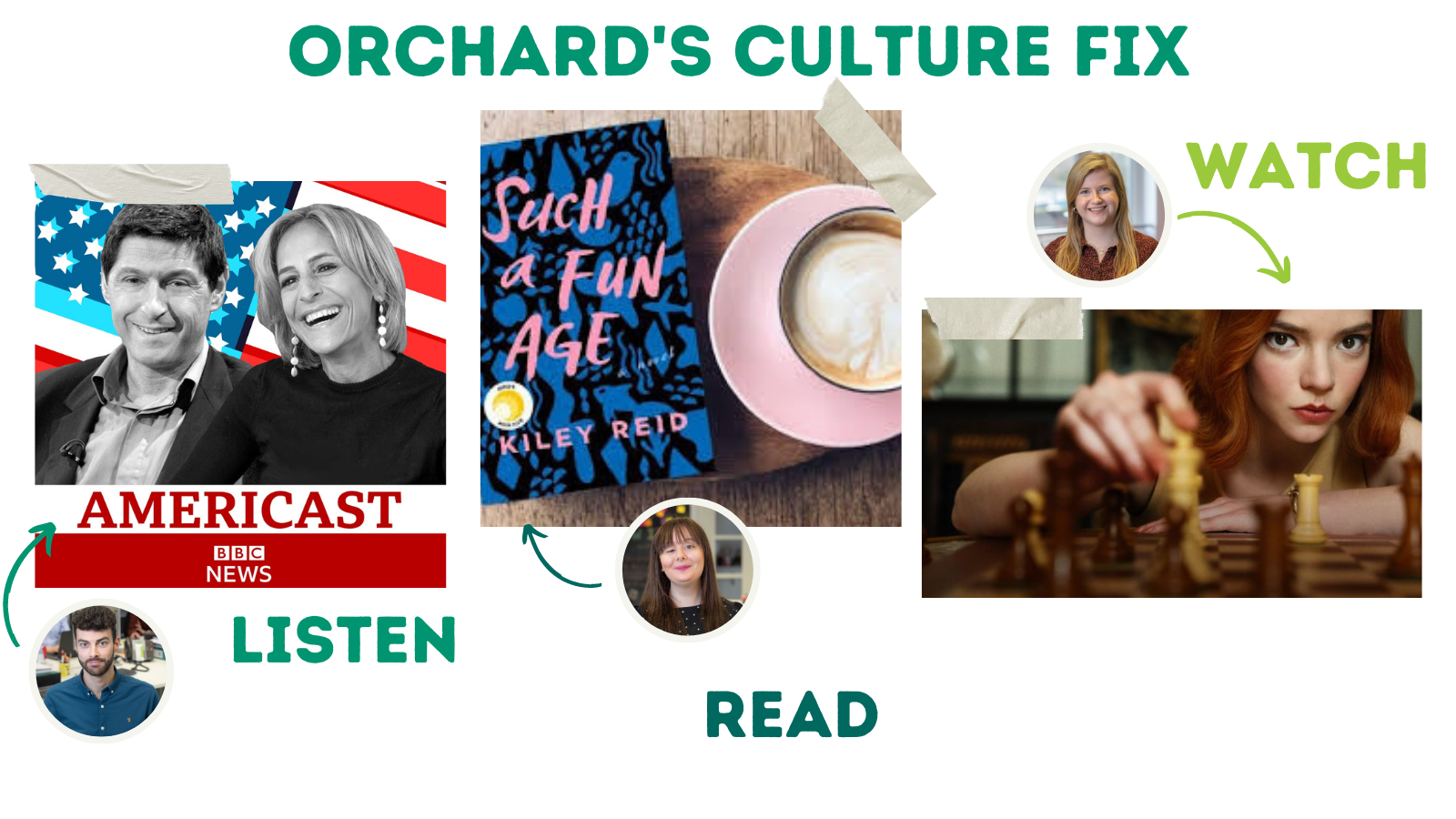 Orchard's culture fix #1